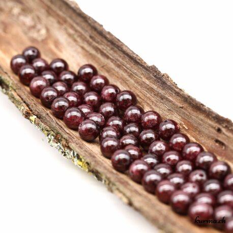 Perles Grenat 7mm