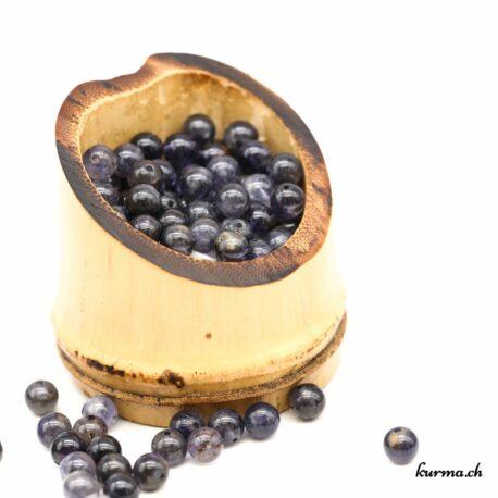 perles Iolite 6mm