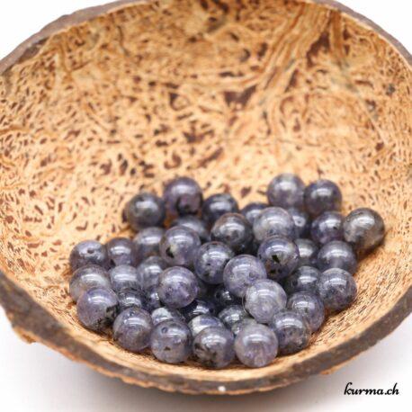 Perles en Iolite Cordiérite