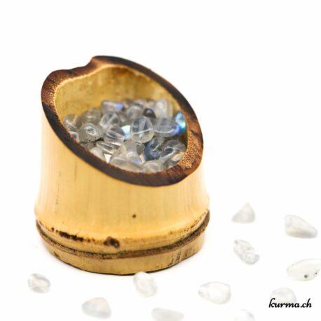 Perles Labradorite pierre roulée 7mm