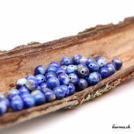 Perles Lapis-Lazuli 6mm
