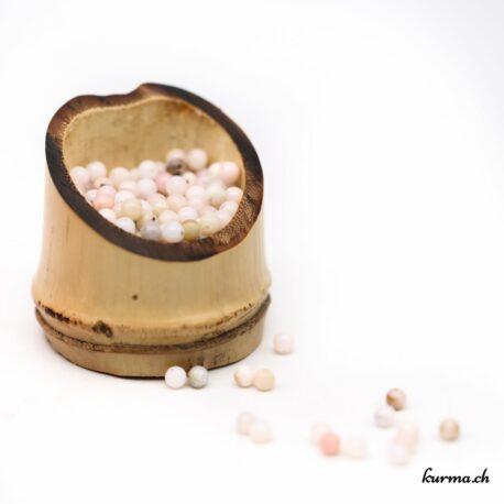 Perles Opale des Andes rose 4mm