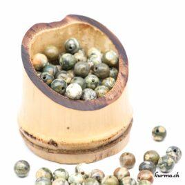 Perles Rhyolite 6mm • Acheter en ligne