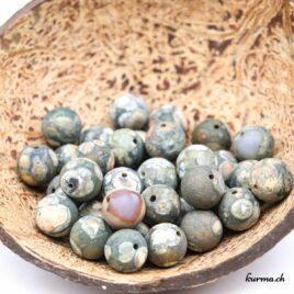 Perles Rhyolite mate 10mm