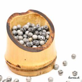 Perles Septaria 4mm