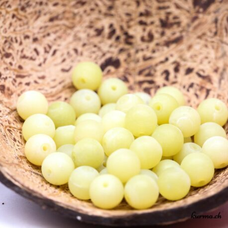 Perles Serpentine mate 8mm
