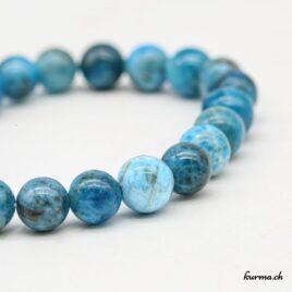 Bracelet Apatite bleue homme