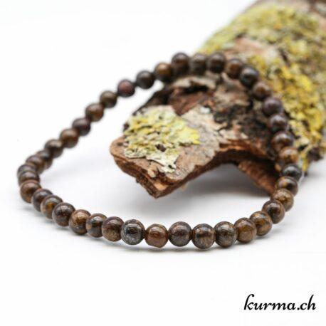 Bracelet Bronzite 4mm