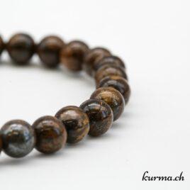 Bracelet Bronzite 6mm