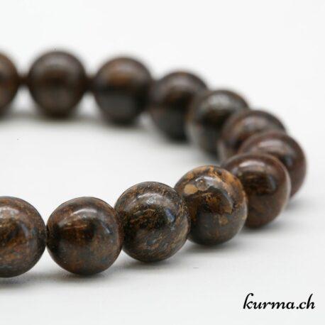 Bracelet Bronzite 8mm