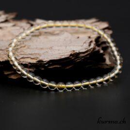 Bracelet Citrine 4mm