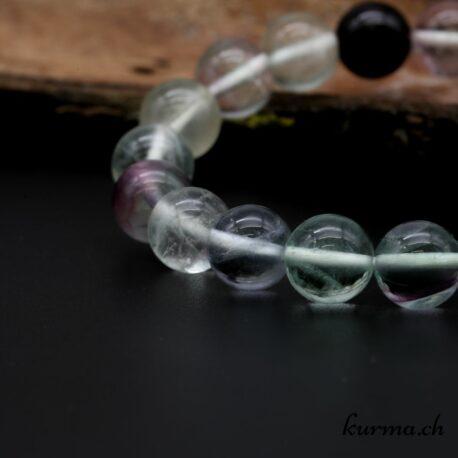Bracelet Fluorite 10mm