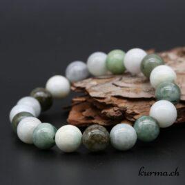Bracelet Jade Serpentine 10mm