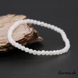 Bracelet Labradorite blanche 4mm
