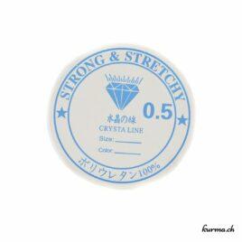 Fil élastique 0.5mm