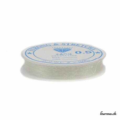 Acheter cette bobine de fil élastique dans la boutique en ligne Kûrma. Ils sont taillés dans un fabuleux  quartz fumé. Kûrma est une boutique spécialisée dans des pierres de qualité directement importer depuis les artisans lapidaires et les outils pour concevoir vos propres bijoux.