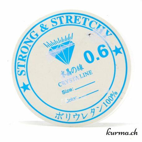 Fil élastique 0.6mm