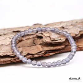 Bracelet Iolite 4mm