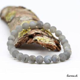 Bracelet Labradorite mate 8mm
