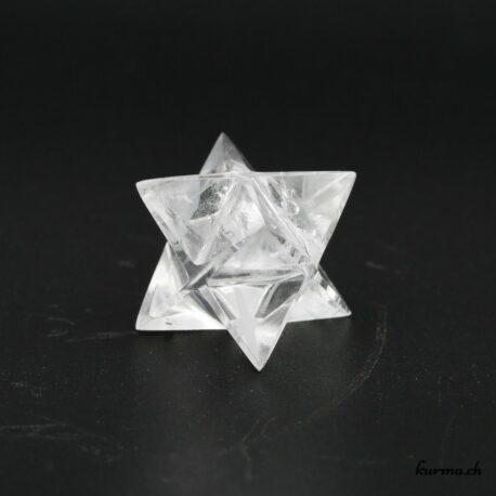 Merkaba en Cristal de roche – N°9744