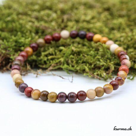 Bracelet Mookaïte 4mm