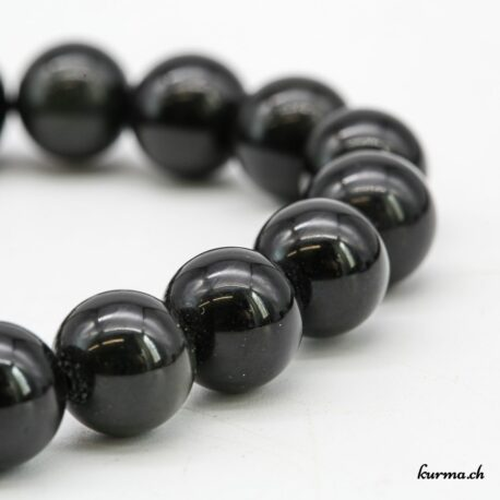 Bracelet Obsidienne Arc-en-ciel 10mm