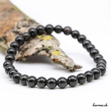 Bracelet Obsidienne Arc-en-ciel 6mm
