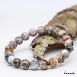 Bracelet Opale mousse dendritique 8mm