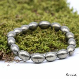 Bracelet Pyrite 12mm