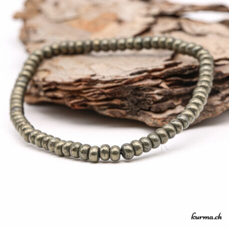 Bracelet Pyrite 4mm