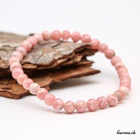 Bracelet femme Rhodochrosite