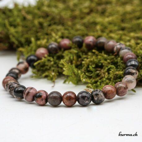 Bracelet Rhodonite 6mm