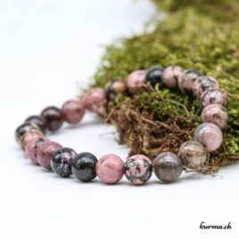 Bracelet Rhodonite homme