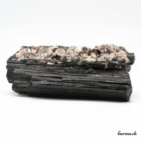 Tourmaline noire cristallisée