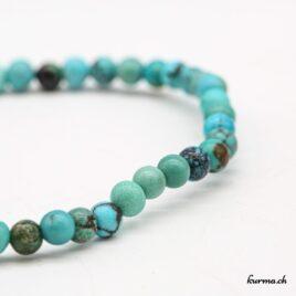 Bracelet Turquoise 4mm