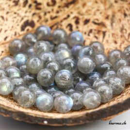 Achat de perles en Labradorite 6mm