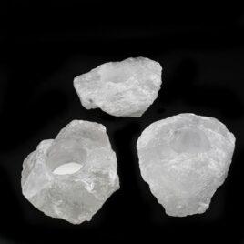 Bougeoir en Cristal de roche