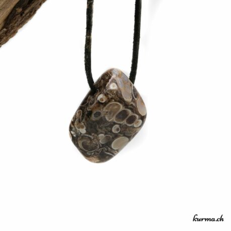 Agate turitelle en collier