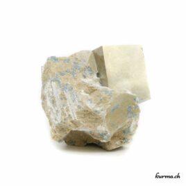 Pyrite cristallisée