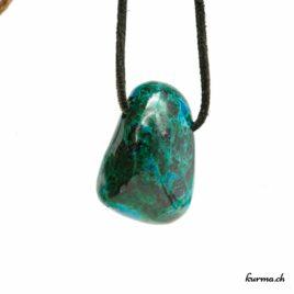 Chrysocolle – Pendentif pierre percée – N°5862.2