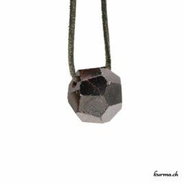 Grenat à facette- pendentif pierre percée – N°5865.1