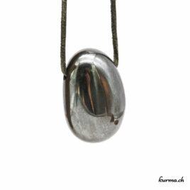 Hématite- Pendentif pierre percée – N°7170.2