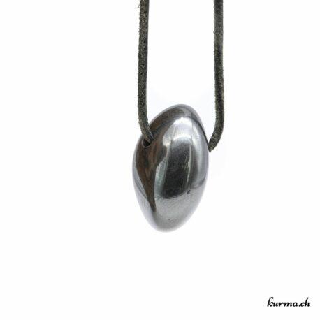 Hématite pendentif pierre