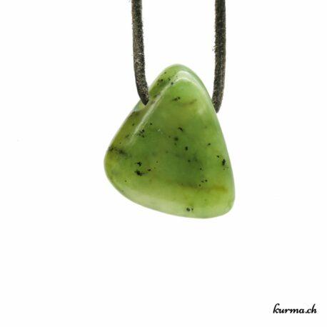 Jade néphrite pendentif pierre percée