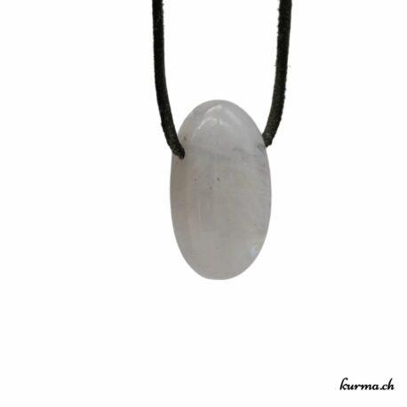 Labradorite blanche pendentif pierre