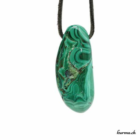 Azurite-Malachite pendentif pierre percée