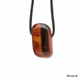 Oeil-de-boeuf pendentif pierre