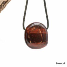 Oeil-de-boeuf pendentif pierre percée
