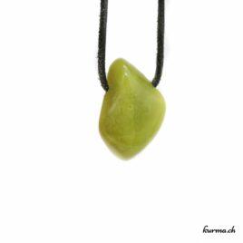 Opale verte Kiwi pendentif