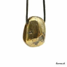 Chalcopyrite – Pendentif pierre percée – N°8521.1